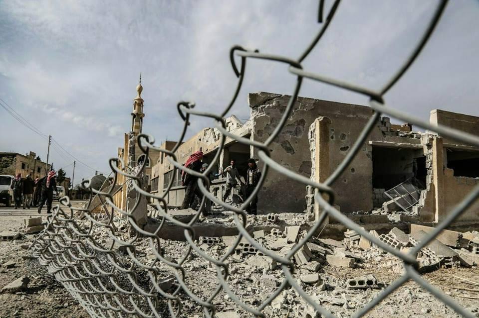 وفاة مدني متأثرا بجراح خلفها قصف على دوما.. وهدوء نسبي يسود الغوطة الشرقية