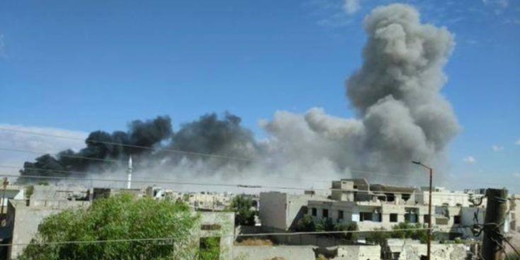 """حماة: قوات النظام تنشأ سواترا ترابية في سهل الغاب لتحديد مناطق """"تخفيف التوتر"""""""