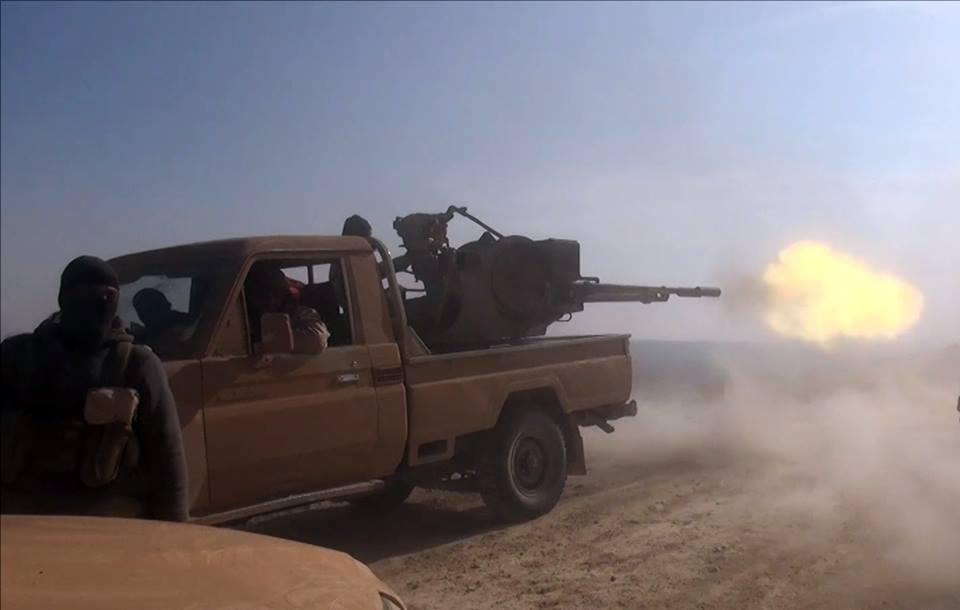حمص: قتلى لقوات النظام خلال اشتباكات مع داعش.. وغارات روسية على مناطق الأخيرة