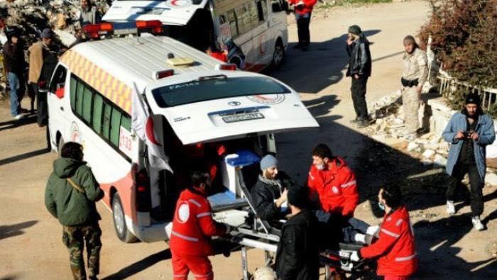 إجلاء عدد من الجرحى في كفريا والفوعة وفق اتفاق المدن الأربعة