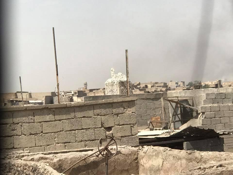 تصوير فراس كيلاني - مراسل بي بي سي العربية في الموصل