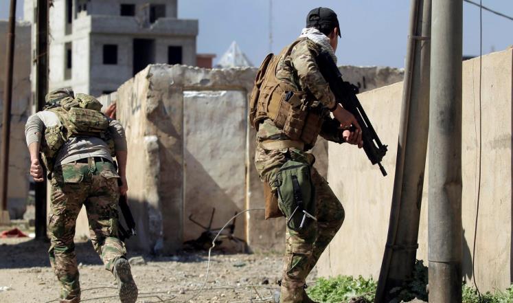 القوات العراقية تعلن بدء اقتحام آخر معاقل داعش في الموصل