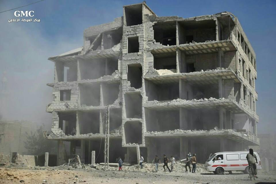"""الغوطة: قصف للنظام بعد بدء الهدنة يتلوه """"هدوء نسبي"""".. والمعارضة تتصدى لمحاولة اقتحام في حرستا"""