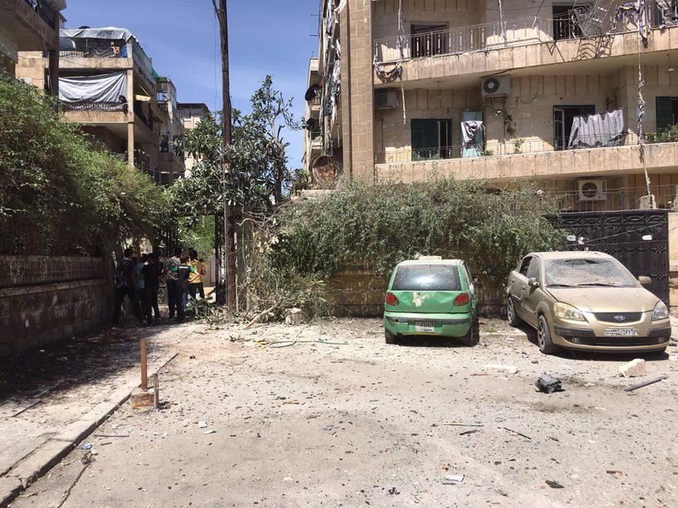 خمسة قتلى و15 جريحا بقصف على أحياء النظام في حلب