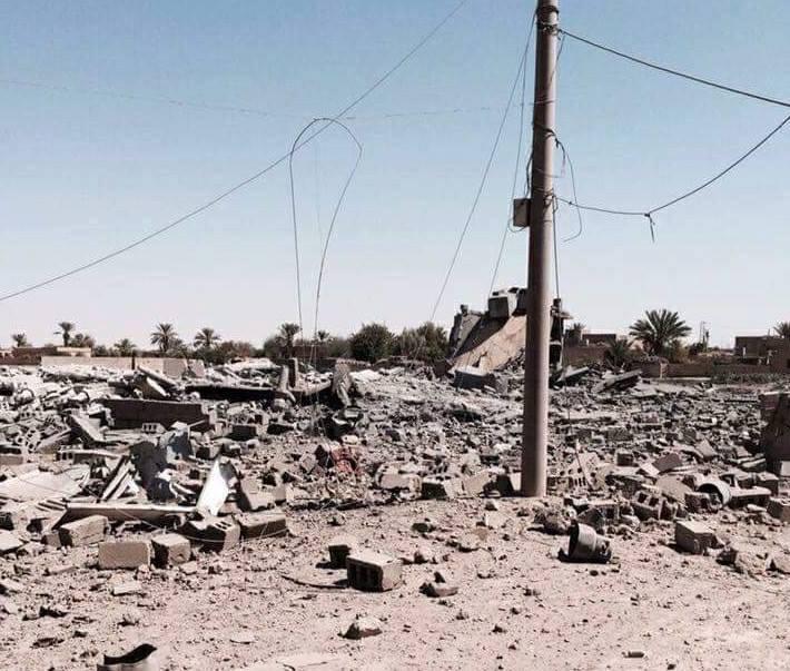 ضحايا مدنيون ودمار أكثر 10 منازل في دير الزور بغارات روسية