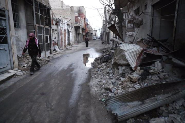 بعد سيطرة قوات النظام عليها لساعات.. المعارضة تستعيد مدينة حمورية