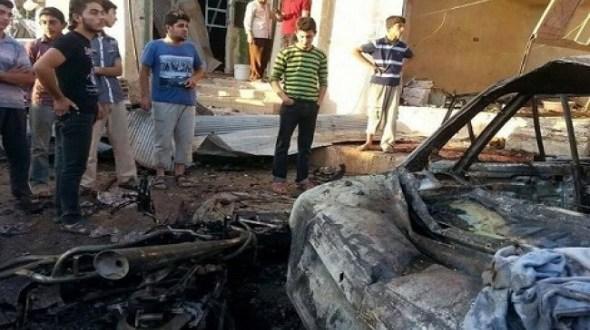 سيارة مفخخة تضرب مقراً لفصائل المعارضة بريف درعا.. ومقتل وإصابة عدة أشخاص