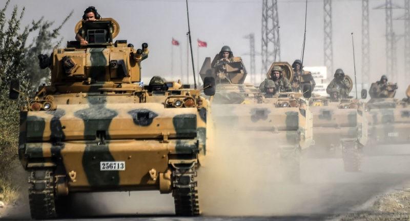 مصدر بالجيش الحر: 200 جندي تركي بمناطق تفصل المعارضة عن الوحدات الكردية
