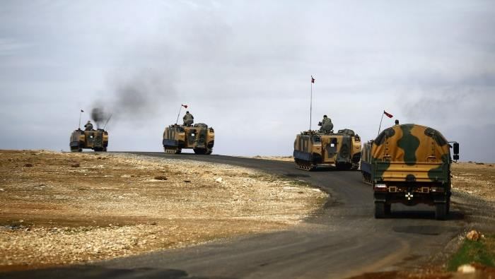 لأول مرة .. دخول قوّات عسكريّة تركية إلى ريف حلب الغربي
