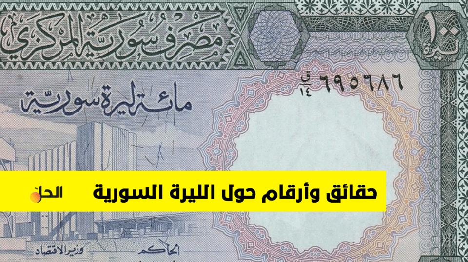 تعرف على مسيرة الليرة السورية منذ العام 1948 والهبوط الذي شهدته أمام الدولار الأمريكي