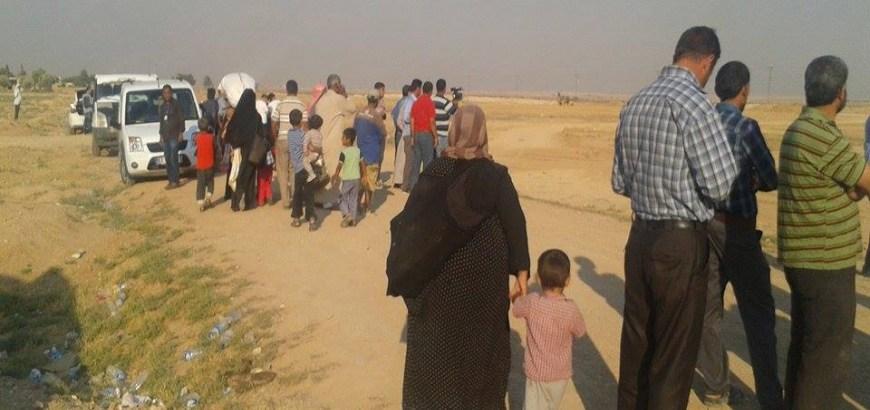 ديرالزور: قصف مدفعي لقسد يقتل مدنيين.. وبعض محاصري حويجة كاطع يسلمون أنفسهم لقوات للنظام