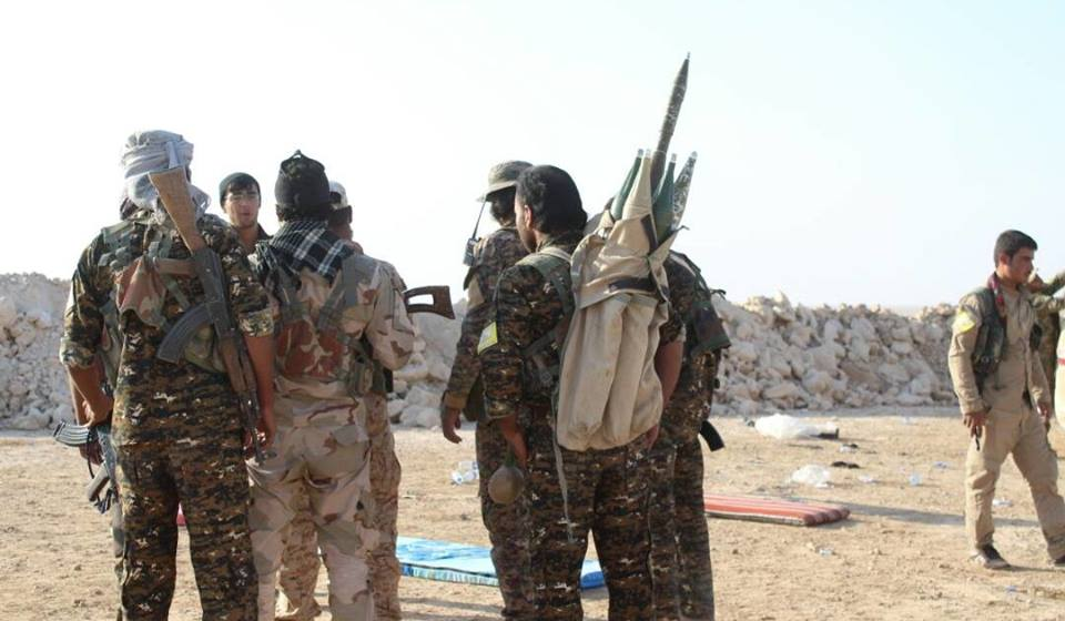 قسد: شريط رفيع أمامنا لإنهاء داعش.. ومستعدون لإخراج المدنيين من حويجة كاطع