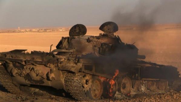 حماة: المعارضة تصد هجوماً لقوات النظام باتجاه المستريحة.. وقصف روسي يستهدف المنطقة