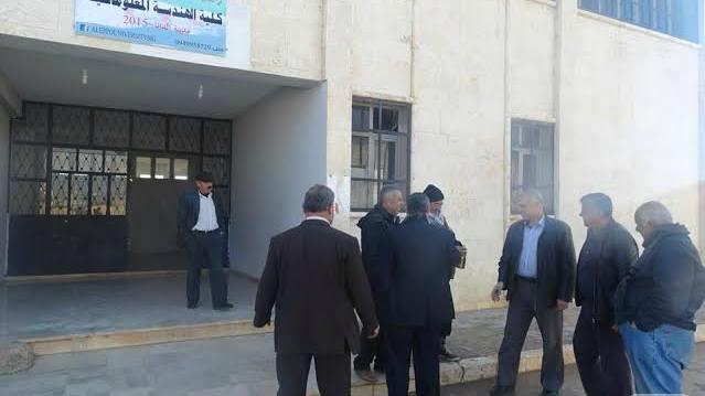 """""""الحكومة المؤقتة"""" تنقل جامعة """"حلب الحرة"""" من إدلب إلى ريف حلب الغربي"""