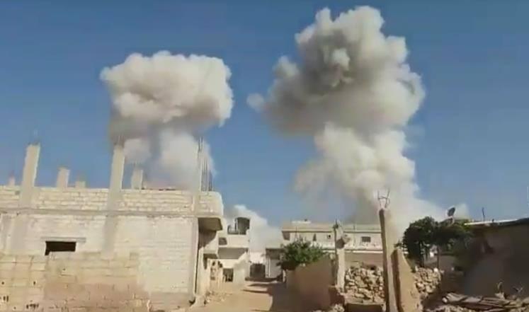 حماة: داعش ينتزع قرية من تحرير الشام.. وقصف جوي يستهدف قرى الريف الشرقي