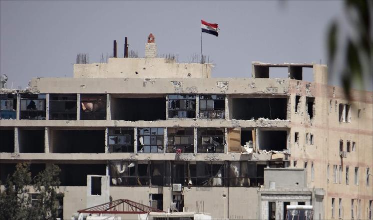 """درعا: فصائل المعارضة تقصف كتيبة """"الشيلكا"""" التابعة لقوات النظامفي البانوراما"""