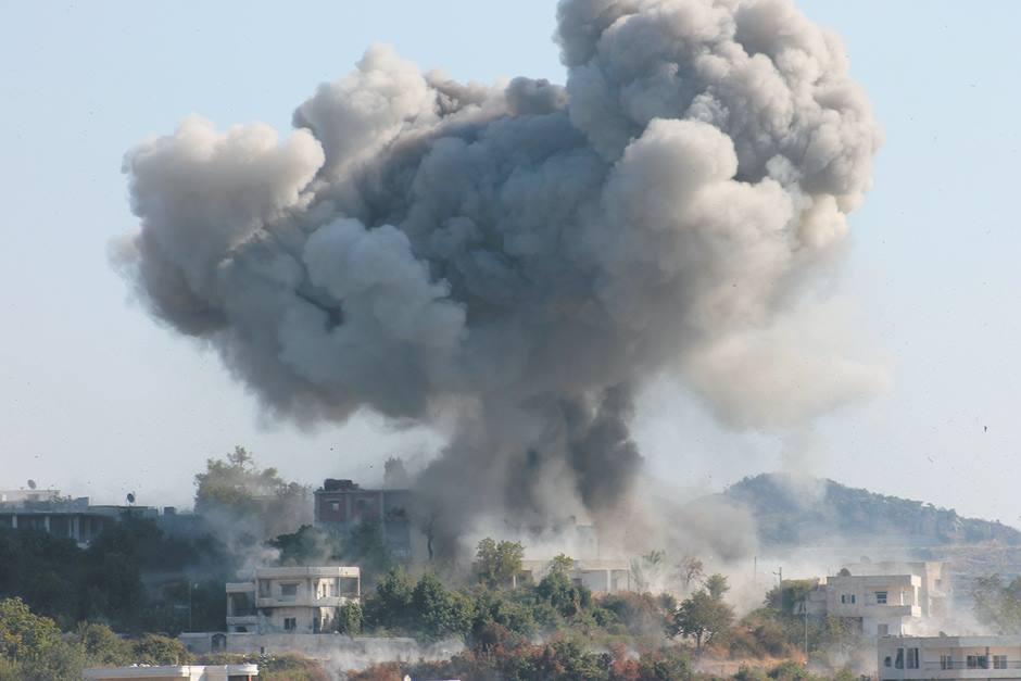 حماة: المعارضة تستهدف بالصواريخ تجمعات للنظام.. وتحرير الشام تسيطر على تلتين