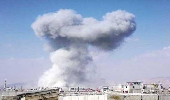 """حماة: مواجهات على جبهة المشيرفة.. والطيران الحربي يقصف المنطقة بـ """"الفوسفور الأبيض"""""""
