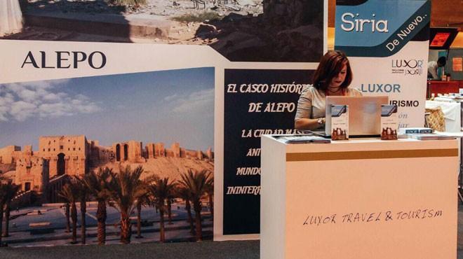 النظام السوري يشارك في معرض للسياحة العالمية بإسبانيا
