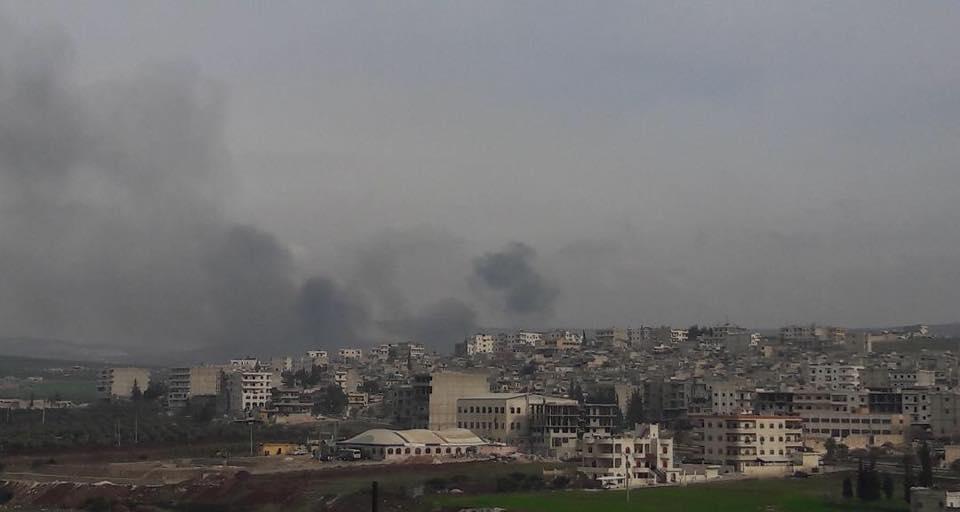 حواجز النظام تمنع نازحي عفرين من العبور إلى مدينة حلب