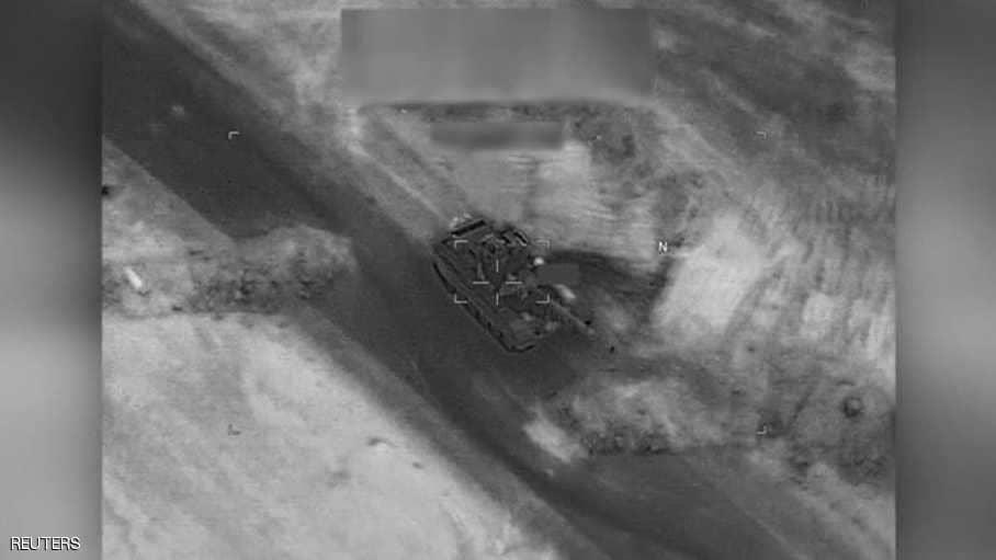 الجيش الأمريكي: دمرنا دبابة روسية الصنع بضربة على دير الزور