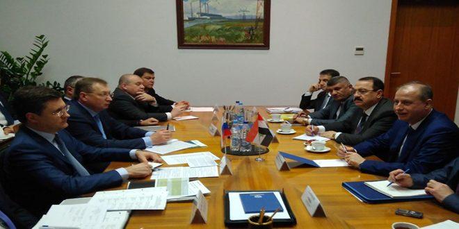 حكومة النظام السوري تمنح روسيا استثمارات جديدة في الطاقة والثروة المعدنية