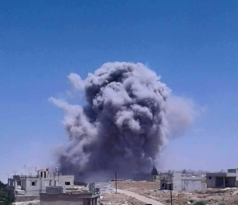 """حماة: 219 غارة على الريف الشمالي خلال آذار.. ومجلسها المحلي يدعو تركيا لـ""""الإسراع بنشر نقاطها للمراقبة"""""""