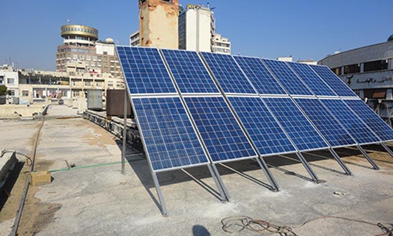 سوريا.. مشروع لتوليد الكهرباء عبر الطاقة الشمسية