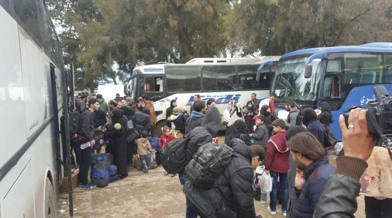 خروج آخر دفعة من الغوطة الشرقية.. والموت يلاحق المهجرين