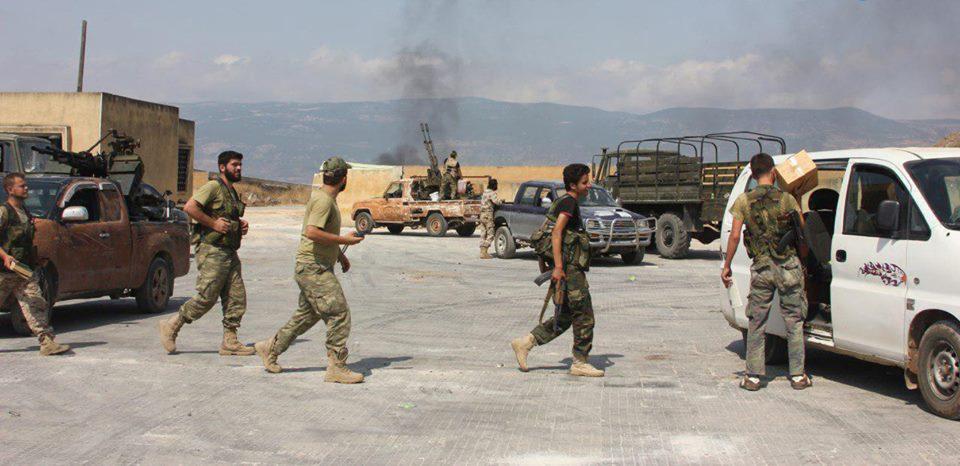 حماة: مجهولون يقتلون عناصر من فيلق الشام.. وقصف يستهدف مناطق خاضعة لسيطرة النظام