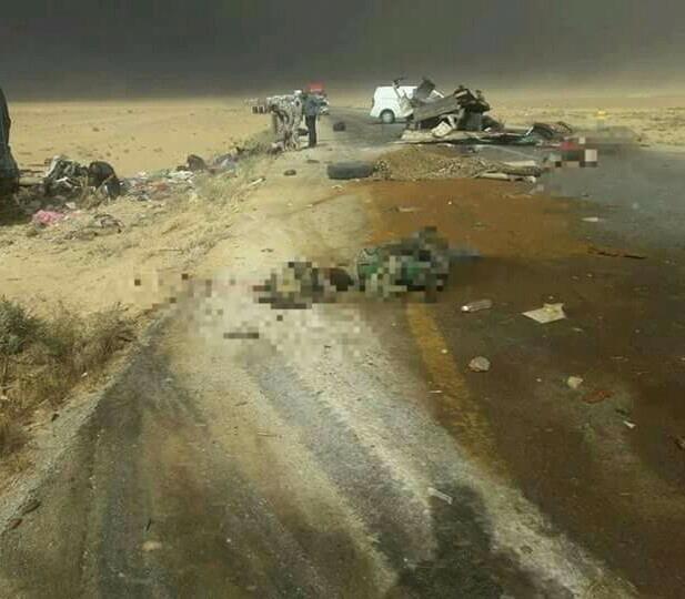 مقتل 27 عنصراً وجرح آخرين من قوات النظام إثر حادث سير شرقي حماة