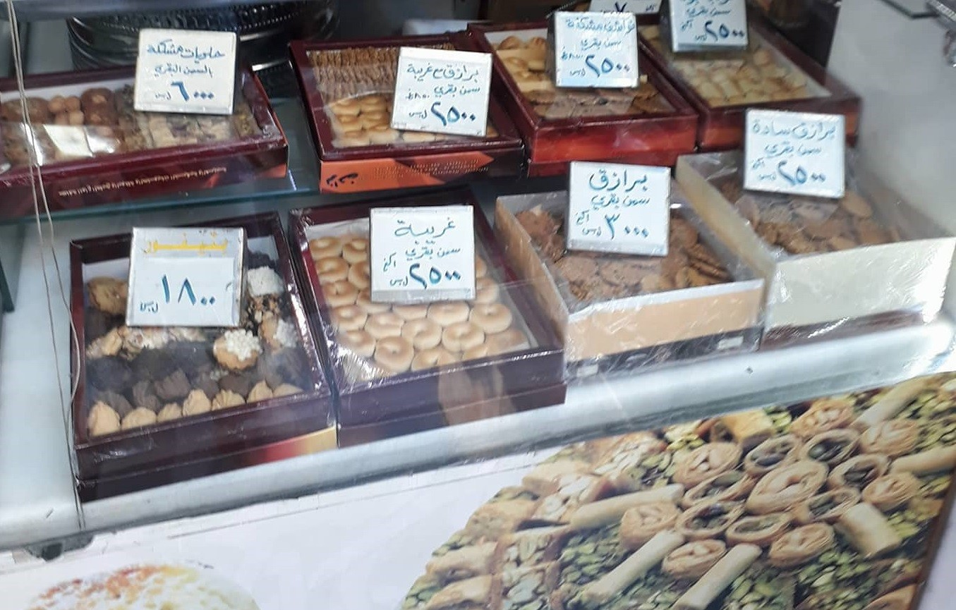 الحلويات الرمضانية بقشطة مغشوشة ومقادير متلاعب بها وأسعار متفاوتة