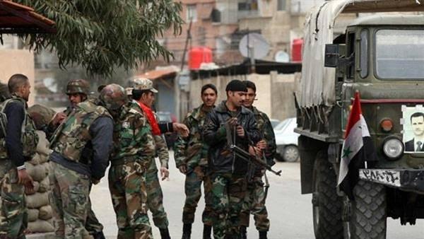 قوات النظام تداهم برزة وتسحب عشرات عناصر التسويات من الهامة إلى درعا