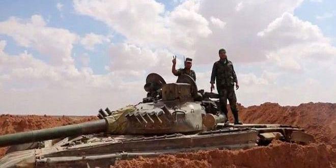 النظام يستهدف مدنيين في بادية السخنة وإعلامه ينشر صور جثثهم على أنهم من داعش