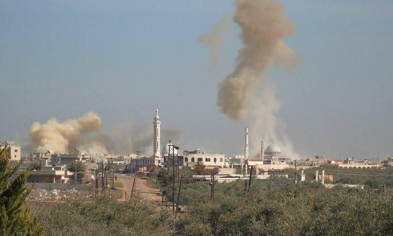 بعد هدوء دام أسبوع: 40 قذيفة على كفرزيتا بريف حماة تخلف ضحايا
