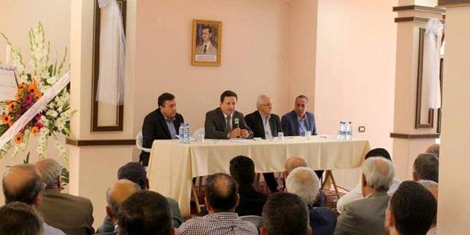 صناعيو القابون يرفضون قرار حكومة النظام بنقل المنشآت الصناعية من منطقتهم