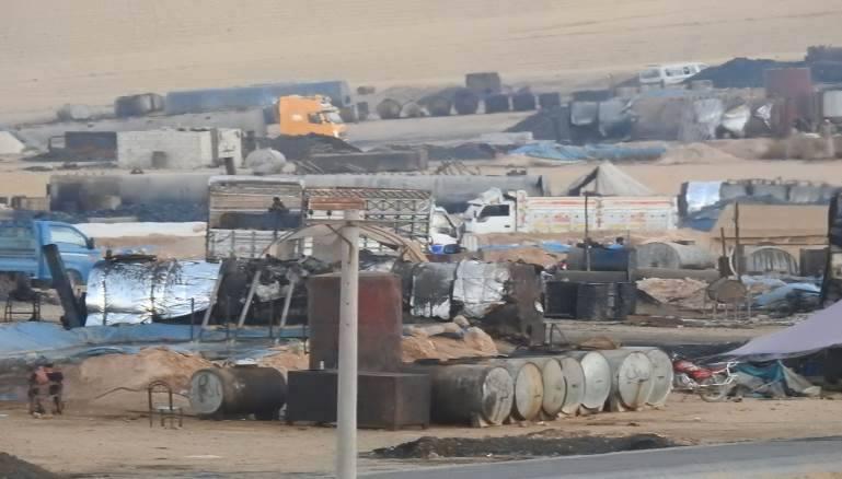 ماذا تعرف عن بيع النفط بين قسد والنظام في دير الزور؟