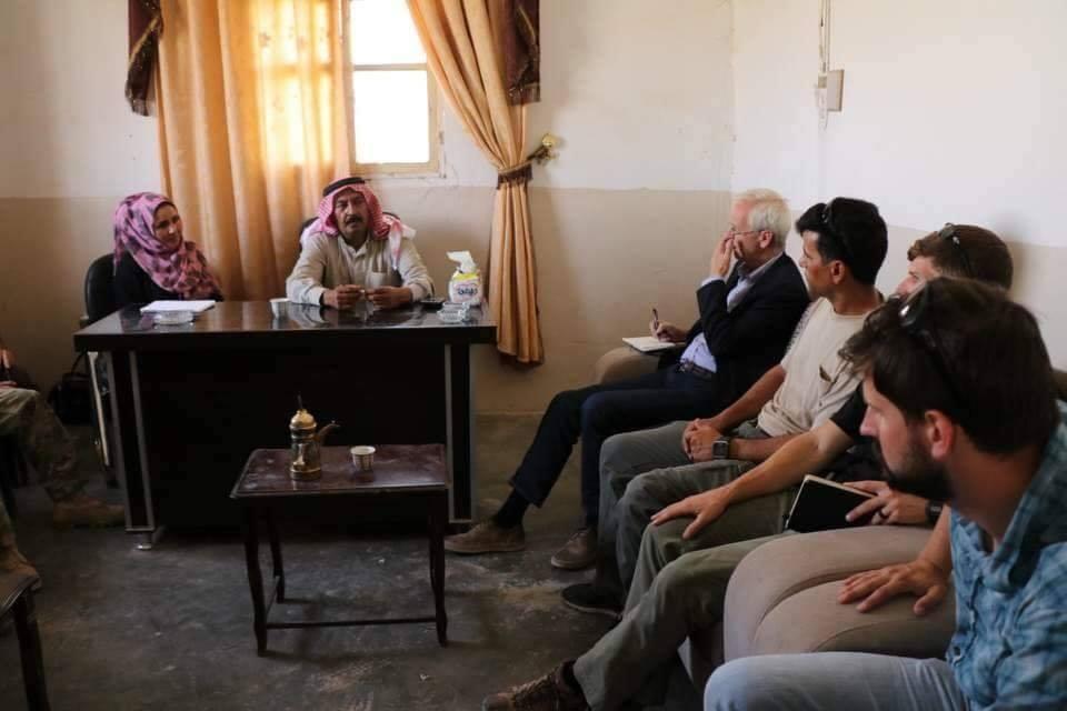 """مسؤول أمريكي مناطق قسد بدير الزور.. ويؤكد أن بلاده """"تركز على خروج إيران ووكلائها"""""""