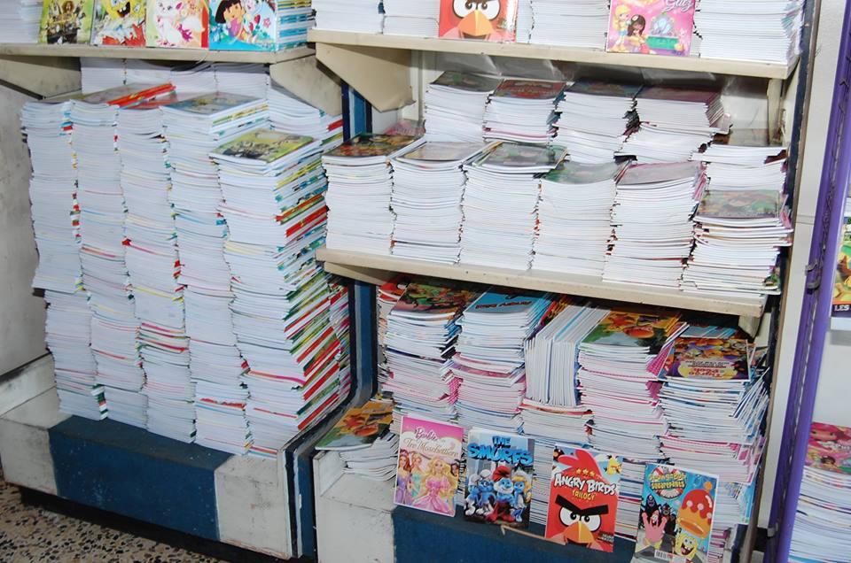 أسعار القرطاسية المرتفعة تزيد معاناة أهالي حماة مع بداية العام الدراسي