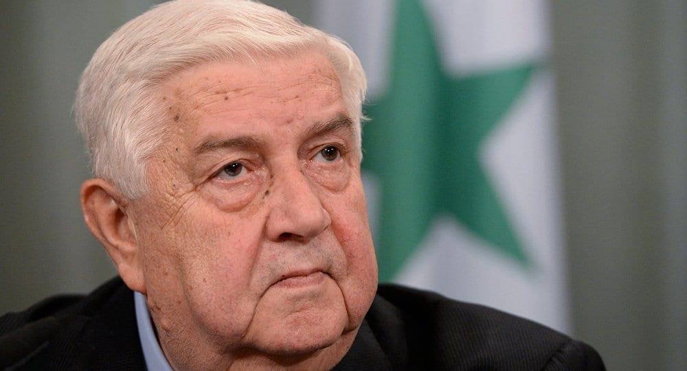 المعلم: بعد إدلب هدفنا شرق الفرات.. سنبسط السيادة على كامل سوريا