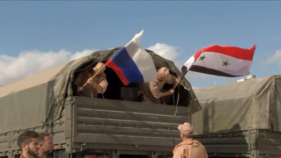 روسيا تواصل حشد قواتها ضمن مناطق سيطرة النظام والمليشيات الموالية له بديرالزور