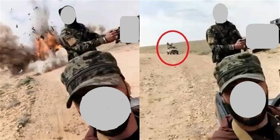 لم يكملوا هتاف «الله والجيش السوري» حتى انفجر بهم لغم «داعش»