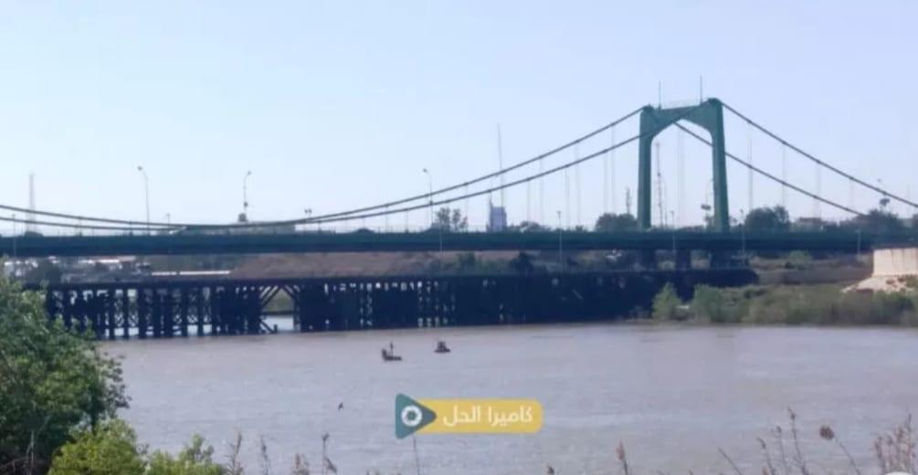 """سقوط صاروخ """"كاتيوشا"""" قرب """"الجسر المُعَلَّق"""" في بغداد"""