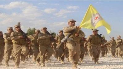 الإدارة الذاتية تحتفظ بعدد من الدورات العسكرية لمدة شهر