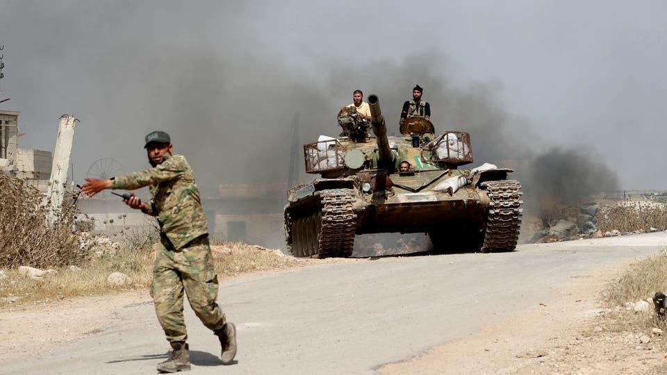 النظام يزج بشبان السقيلبية في معارك ريف حماة تعويضاُ عن القتلى والجرحى من عناصره