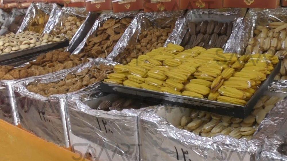 حلويات العيد بدمشق… راتب الموظف: ٢ كيلو معمول وكيلو برازق!