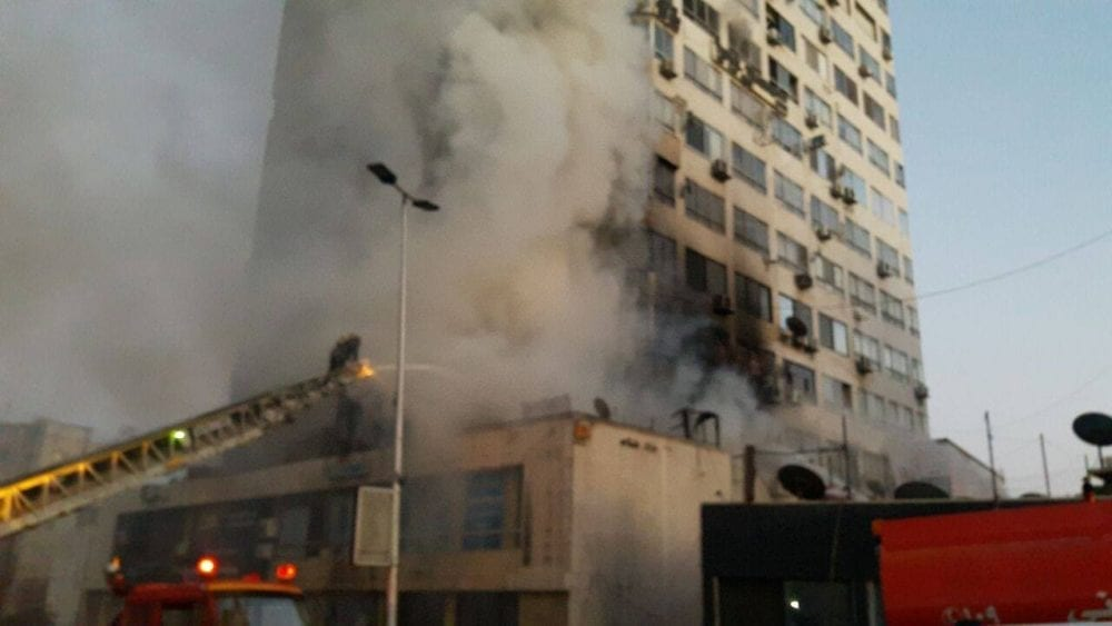 دمشق… 25 حريقاً يومياً والإطفاء بلا مدافع مياه أو سلالم كافية