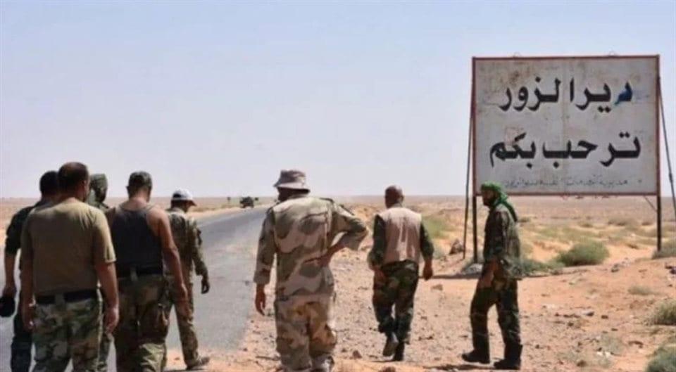 """9 قتلى بهجومٍ  لتنظيم """"داعش"""" على حاجزٍ لقوات النظام بدير الزور"""