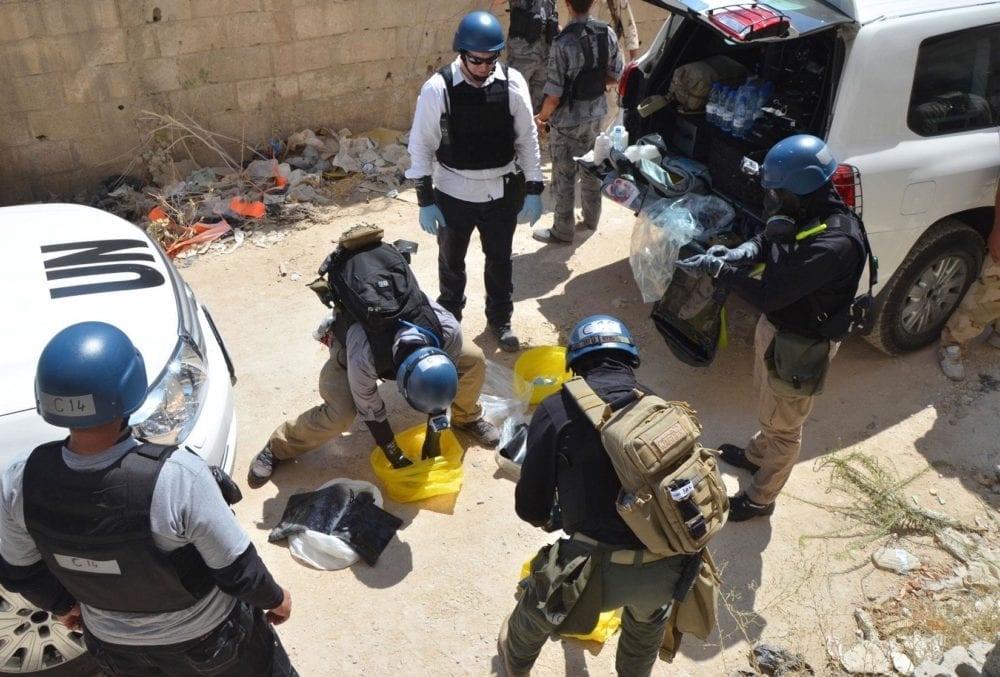 فريق خبراء للتحقيق بهجماتٍ كيماوية إلى سوريا