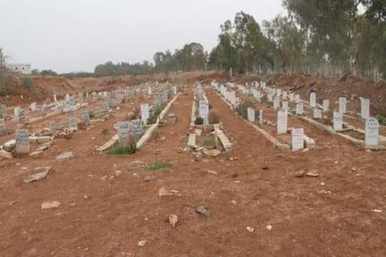 """حكومة دمشق تبيع أرض مقبرة """"شهداء حرستا"""" بالمزاد العلني"""